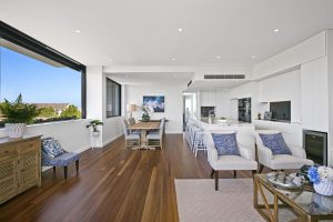 New 3 bedroom penthouse apartment in the Laurier complex in Cremorne sells for $4m.