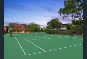 2 Mistral St Mosman home with tennis court